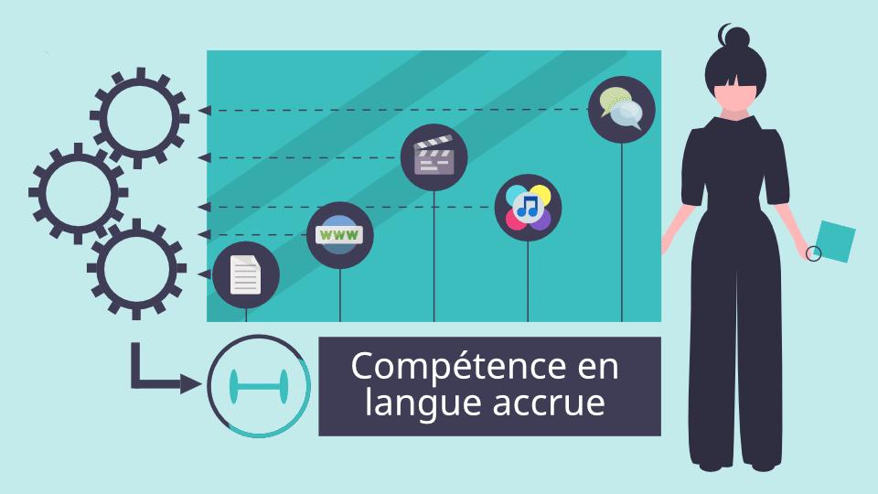 Il est indispensable d'avoir un système d'apprentissage des langues efficace