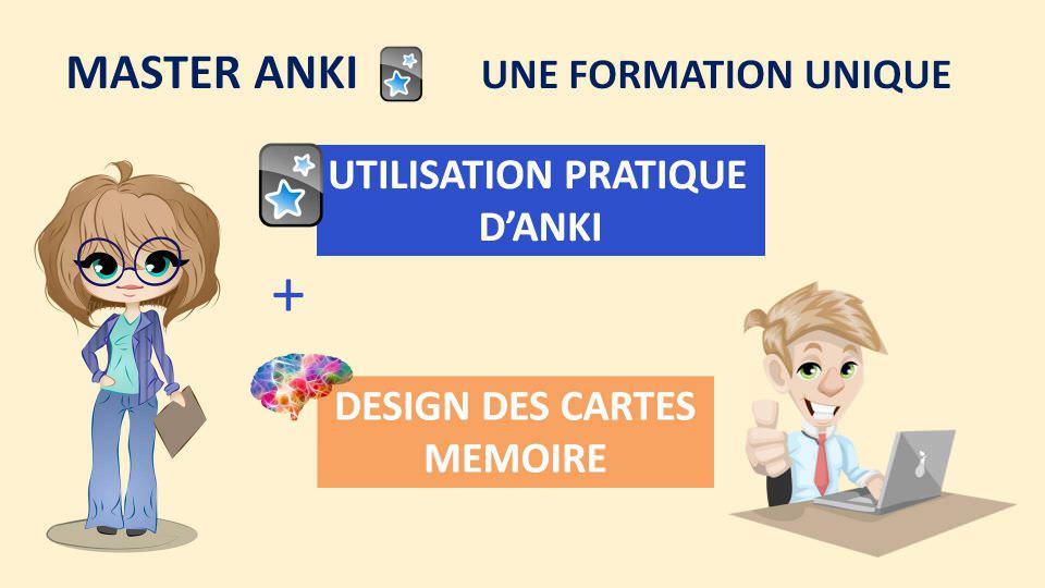 Master Anki : une formation unique qui allie utilisation pratique de l'outil et principes neuroscientifiques pour un design optimal des cartes mémoire