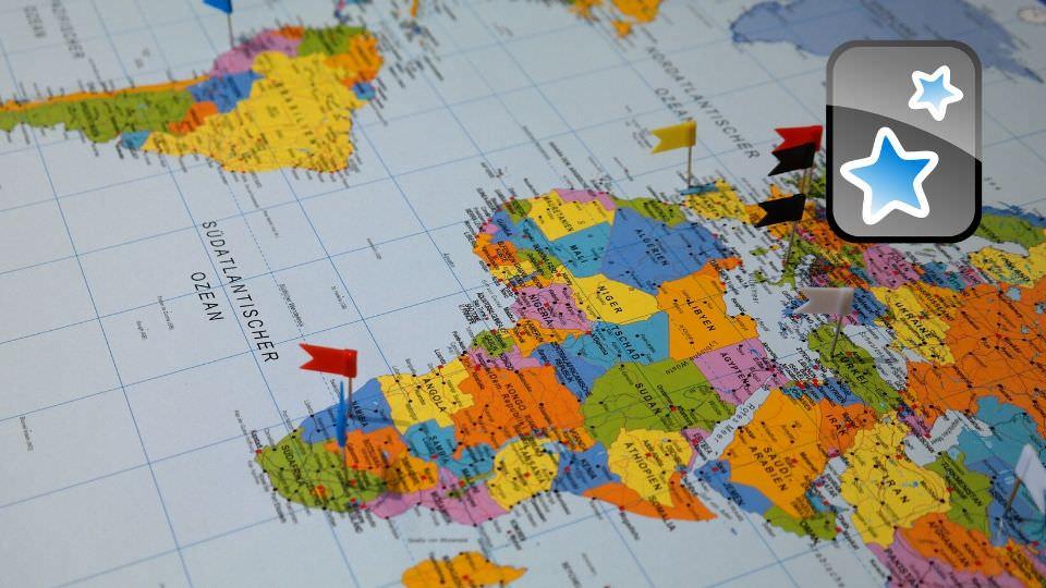 Meilleurs paquets de cartes partagés Anki : apprendre la géographie