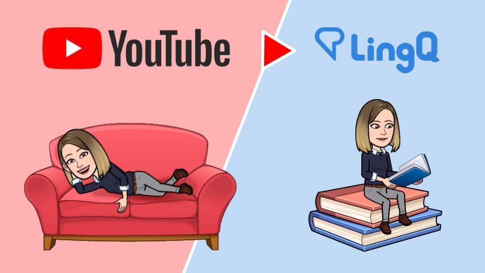 Etudier une vidéo YouTube avec LingQ
