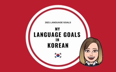Mes objectifs en coréen pour 2021