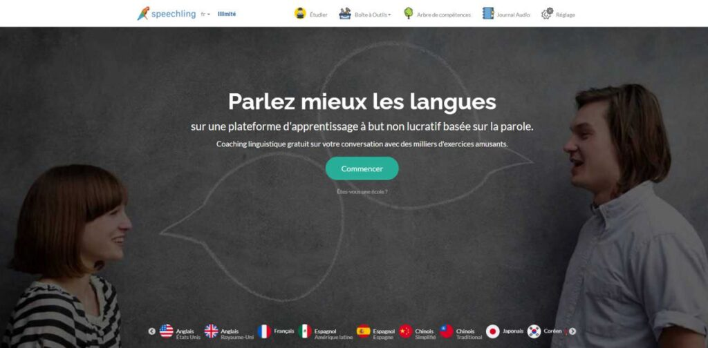 Speechling Home Page
