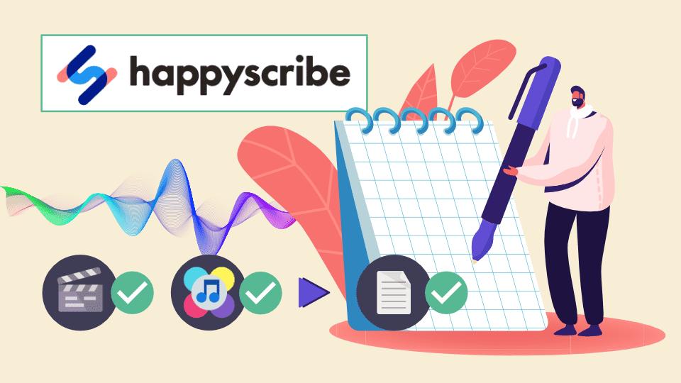 Obtenez facilement des transcripts de qualité avec Happy Scribe